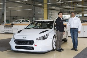 The first Hyundai i30 N TCR cars were delivered